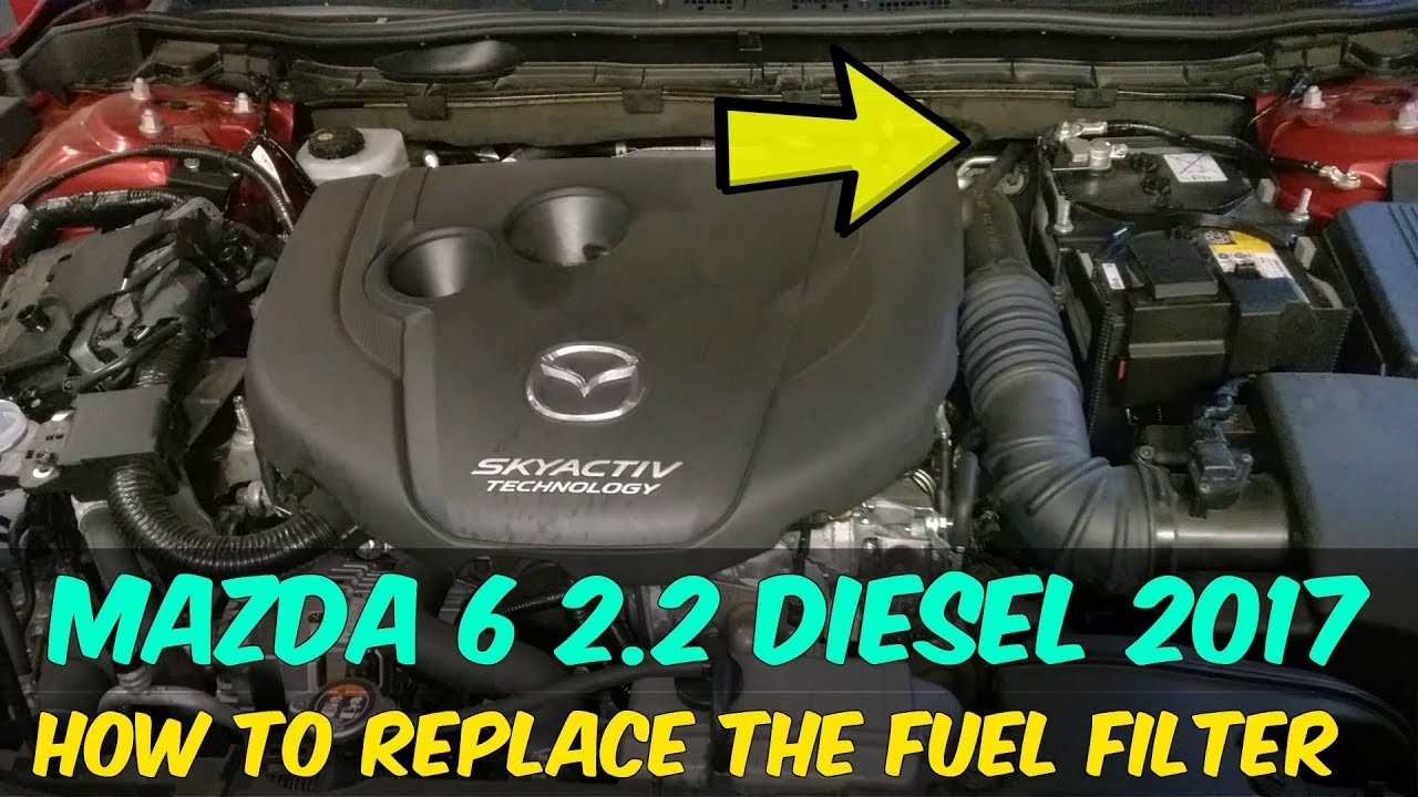 2013--2018 Mazda 6 Fuel Filter Replacement - How To DIY - YouTube YouTube