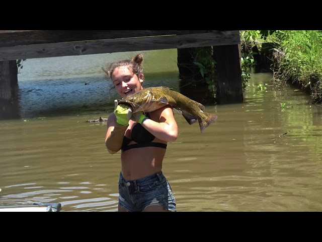 Mallorys First Catfish