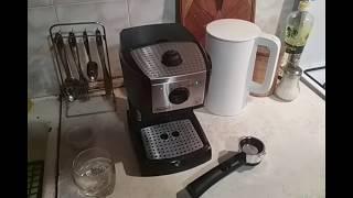 Детальный обзор рожковой кофеварки DeLonghi EC 156.B