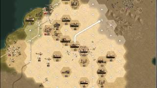 Panzer Corps: Africa Korps Preview AAR