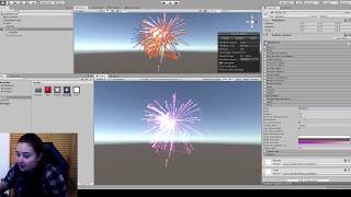Unity Tutorial - Fireworks using particle systems