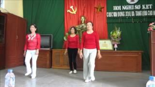 Thể Dục  Khỏe vì Nước - Hội NCT Thụy Khuê sài Sơn Quốc Oai Hà nội