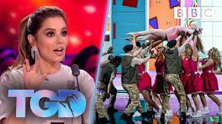 Matthew's fresh Company Jinks WOW Cheryl in toy challenge - The Greatest Dancer | LIVE