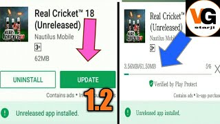 Real cricket 18 hack version 1 2 download | How to hack real