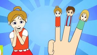 the finger family new nursery rhyme   cartoon animation songs for children