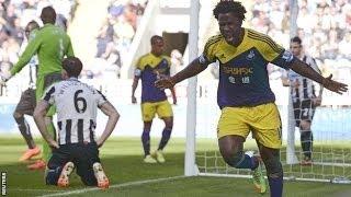 Video Gol Pertandingan Newcastle United vs Swansea City