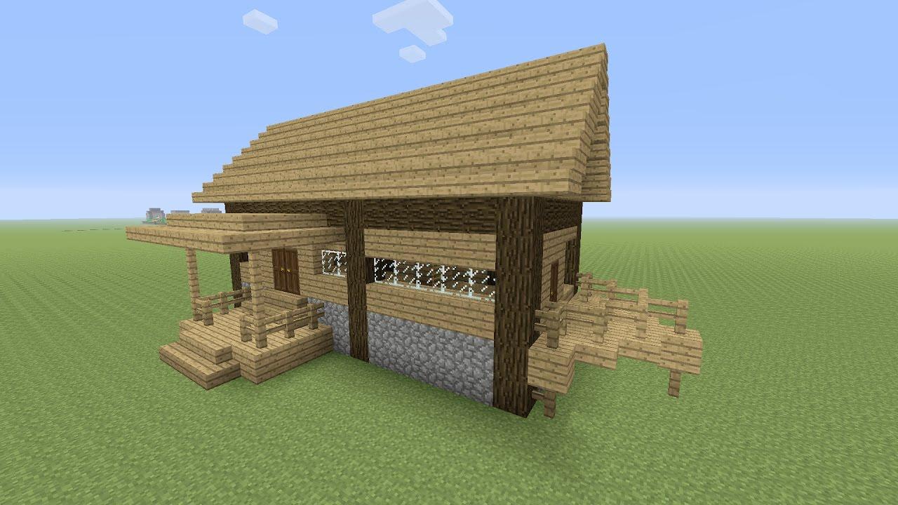minecraft een houten huis maken 26 youtube
