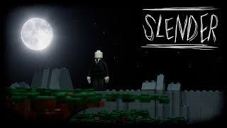 LEGO Мультфильм Слендермен / LEGO Stop Motion Slenderman