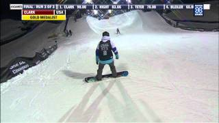 Winter X Games 2012: Kelly Clark's Gold Medal Run