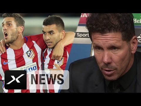 """Diego Simeone: """"Im Moment sehr emotional""""   Leicester City - Atletico Madrid 1:1"""