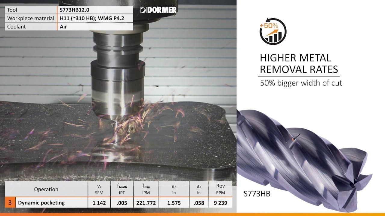 Solid Carbide Five-Flute End Mills Target Dynamic Milling
