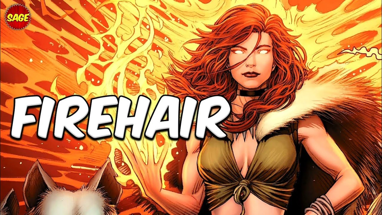 """Who is Marvel's Firehair? Thor's True Mother, The First """"Phoenix"""""""
