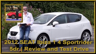 Review and Virtual Video Test Drive In Our 2012 SEAT Ibiza 1 4 Sportrider 5dr FL12ZSY