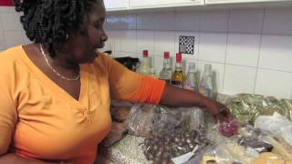 PT. 1 My Mom Showing off Her Goodies from Grenada