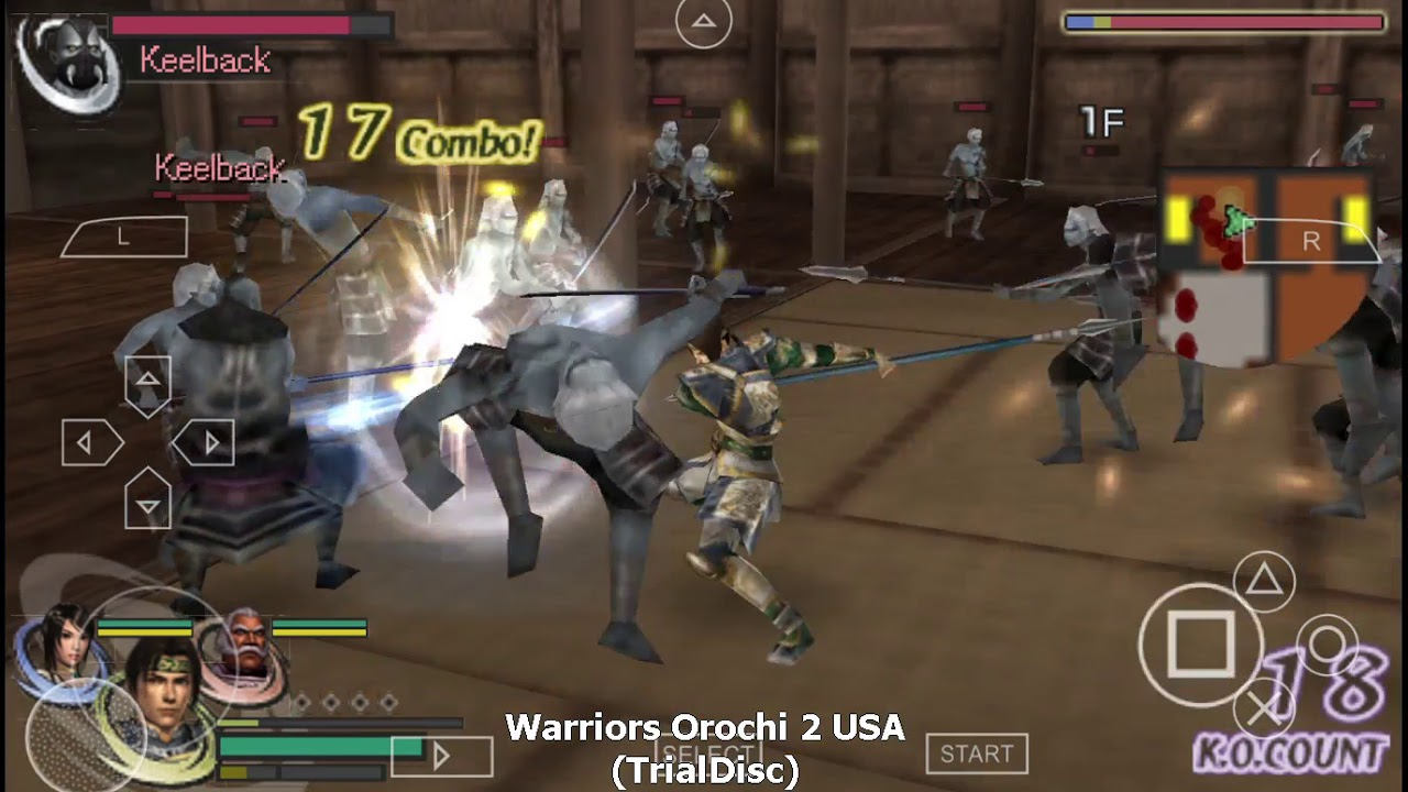 download warriors orochi 2 iso ps2