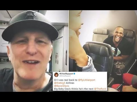 Michael Rapaport stops man trying to open emergency exit while midair - 247 news