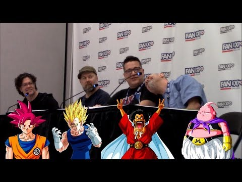 Chris Rager & Josh Martin Crash Dragonball Panel with Sean Schemmel & Chris Sabat