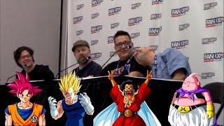 Chris Rager & Josh Martin Crash Dragonball Panel with Sean Schemmel & Chris Sabat