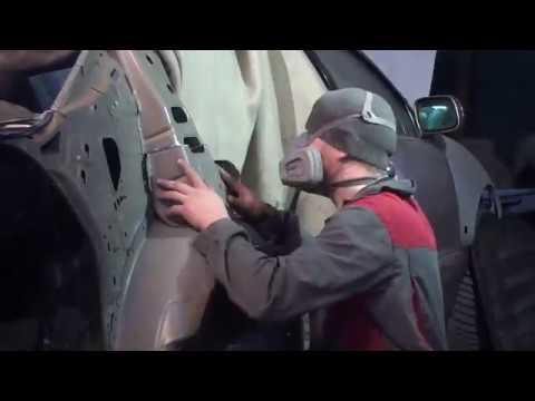 Кузовной ремонт Lexus GS300. Замена заднего крыла.