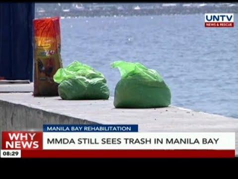 MMDA still sees trash in Manila Bay