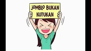 Ecko Show - Jomblo Bukan Kutukan with Lyrics