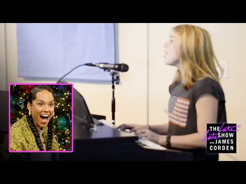 Billie Eilish Surprises Alicia Keys W/ A Home Video 'Fallin' Cover