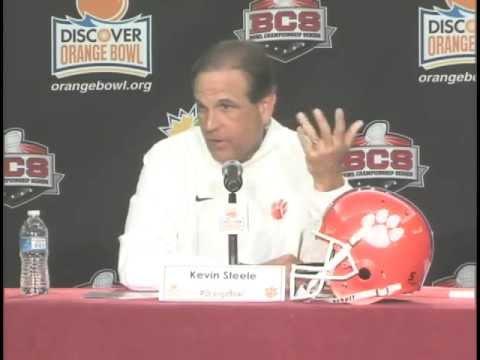 Clemson Defensive Coordinator Press Conference - Discover Orange Bowl