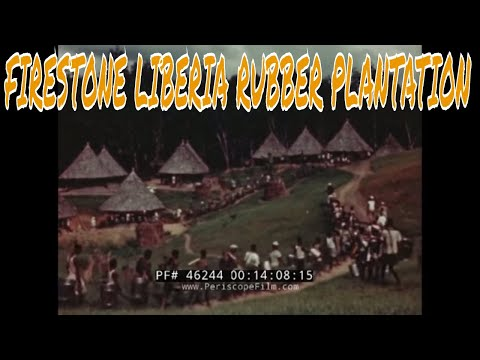 FIRESTONE LIBERIA RUBBER PLANTATION PROMOTIONAL FILM 46244