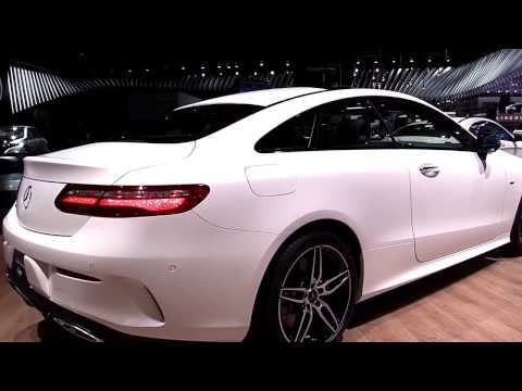 2018 Mercedes E Class Coupe E400 4Matic White Edition Look In 4K