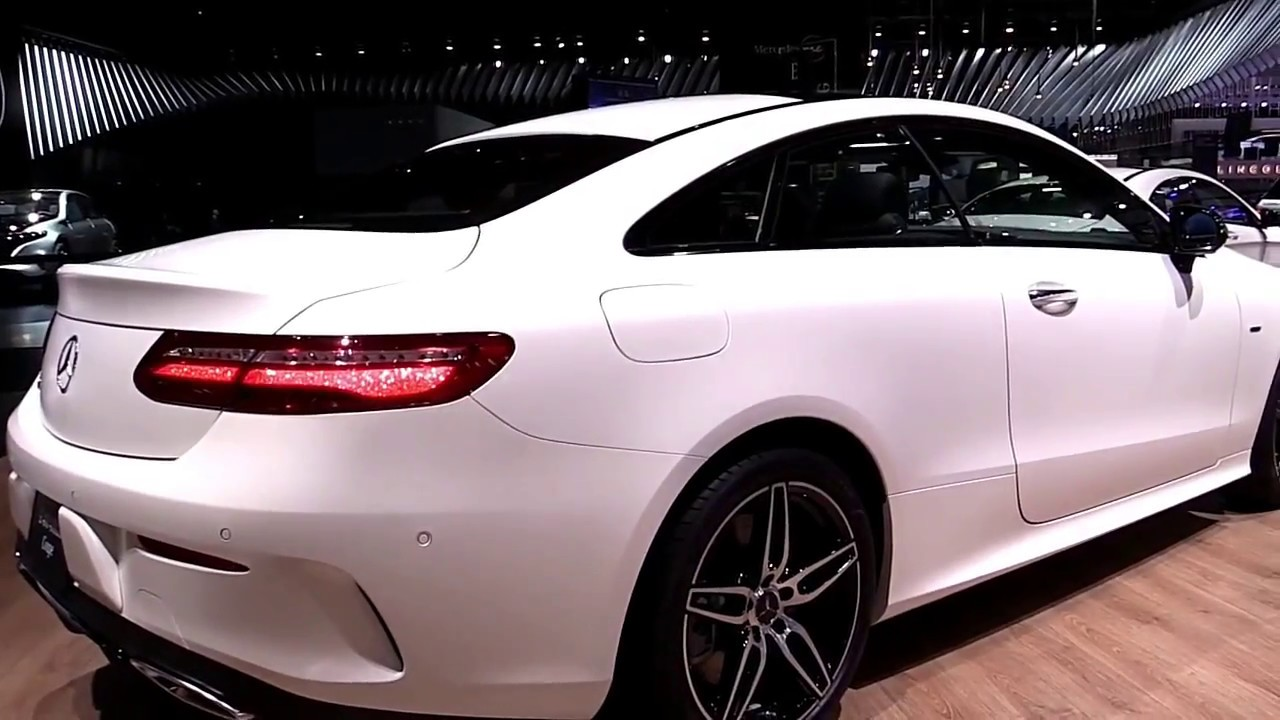 2018 Mercedes C300 Price >> 2018 Mercedes E Class Coupe E400 4Matic White Edition Look In 4K - YouTube