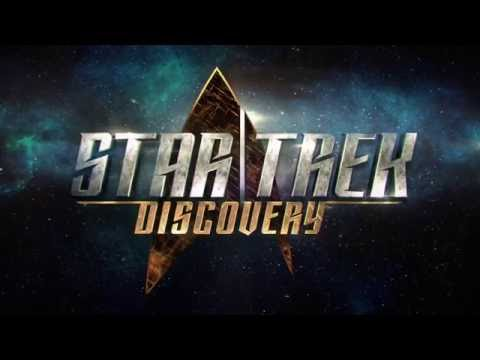 STAR TREK DISCOVERY Official Comic Con Ship Test Footage 2017