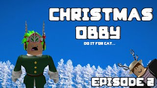 FUNNIEST ROBLOX Gameplay w/ Blog & Jake - Christmas Obby