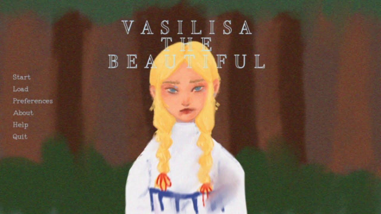 Download A Folklore of Baba Yaga in Visual Novel style - Vasilisa the Beautiful