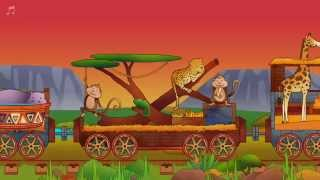 Safari Train for Toddlers - fun mobile app about zoo animals and trains