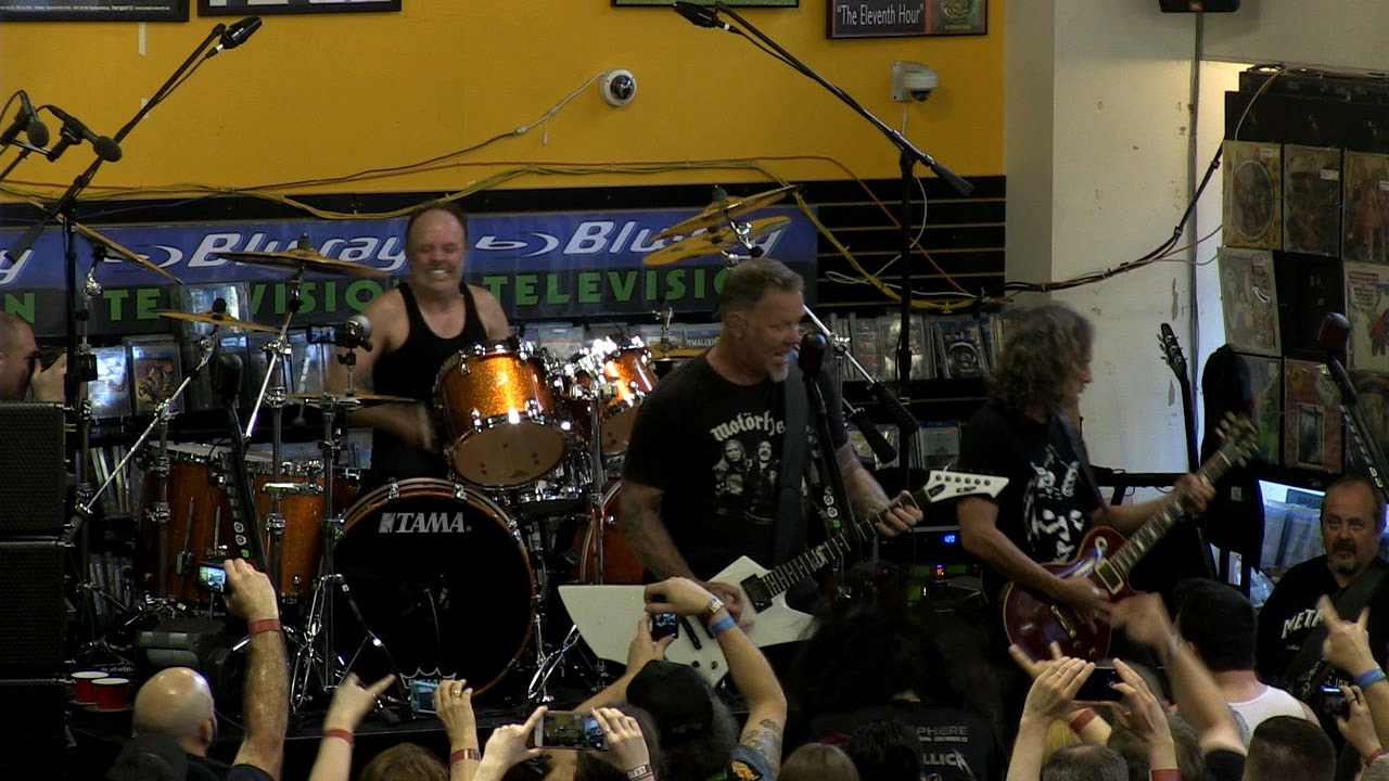 Image result for record store day metallica