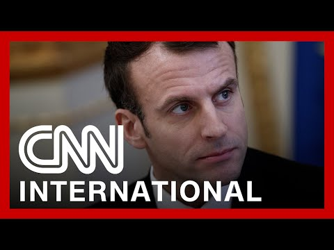 French President Macron gets slapped by member of public