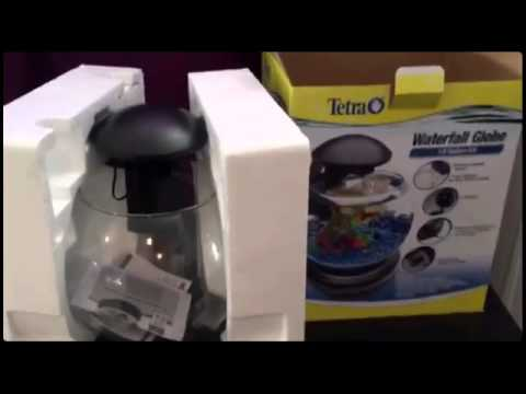 Unboxing of Tetra Waterfall Globe (Quick Video)