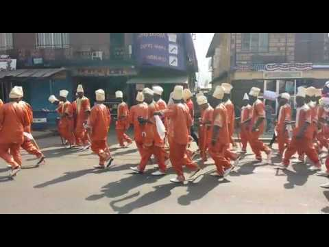 Freetown, Sierra Leone | Parade with Masked Devil