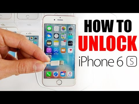 How to unlock a number on my iphone 6s plus from at&t