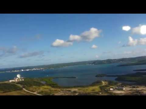 Takeoff from V.C. Bird International Airport (ANU), Antigua