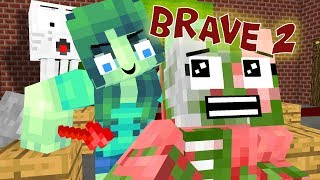 - Monster School Brave Part 2 Minecraft Animation