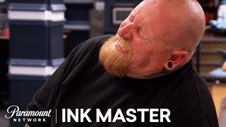 'Tattoo Cover Up of Smoking Scars' Flash Challenge Preview | Ink Master: Season 8