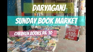 DARYAGANJ SUNDAY BOOK MARKET |TheLifeSheLoved| Sana K
