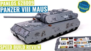 Panlos 628009 - Panzer VIII Maus with interior - Speed Build Review