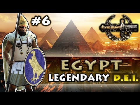 WAR WITH MEDEWI - Divide Et Impera - TW: Rome II - Egypt Legendary Campaign #6