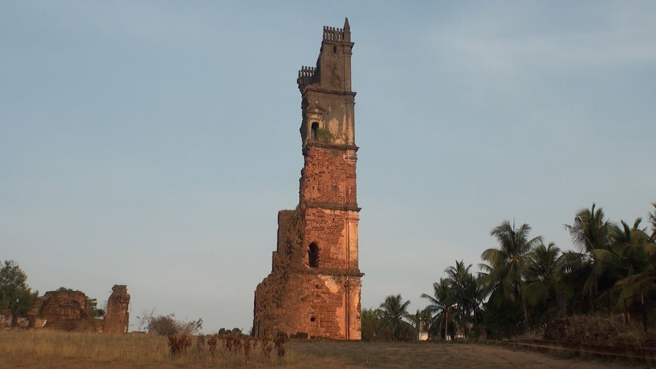 Image result for Ruins of St. Augustine Goa