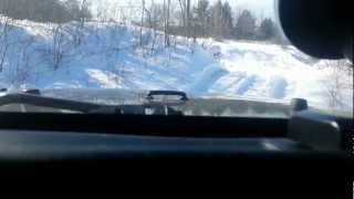 Scotia NY - 2013, February : Wheeling in the snow 2