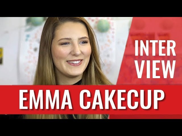 EMMA CAKECUP EN INTERVIEW CANAPÉ