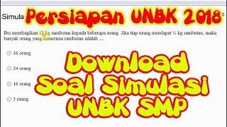 Video Latihan Simulasi Soal UNBK SMP - Persiapan UNBK 2018 & Pembahasan Soal Matematika download MP3, 3GP, MP4, WEBM, AVI, FLV Juni 2018