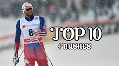 Petter Northug - Top 10 Finishes